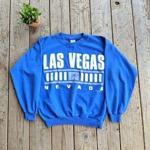 Vintage 1990 Las Vegas Nevada Pullover Sweater M
